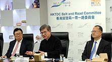 """香港贸发局:继续在五个方向支援""""一带一路""""发展"""